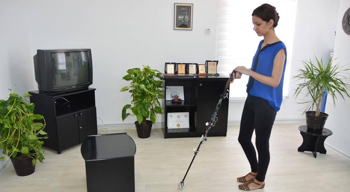 "Students of EMU Develop a ""Smart Walking Stick System"""